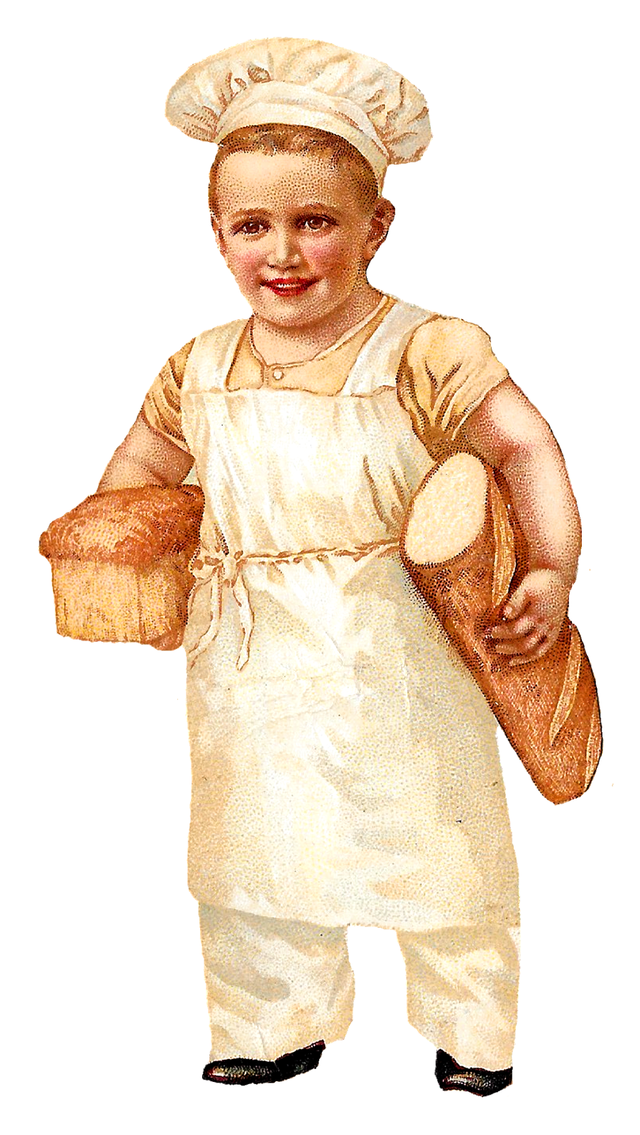female clipart baker
