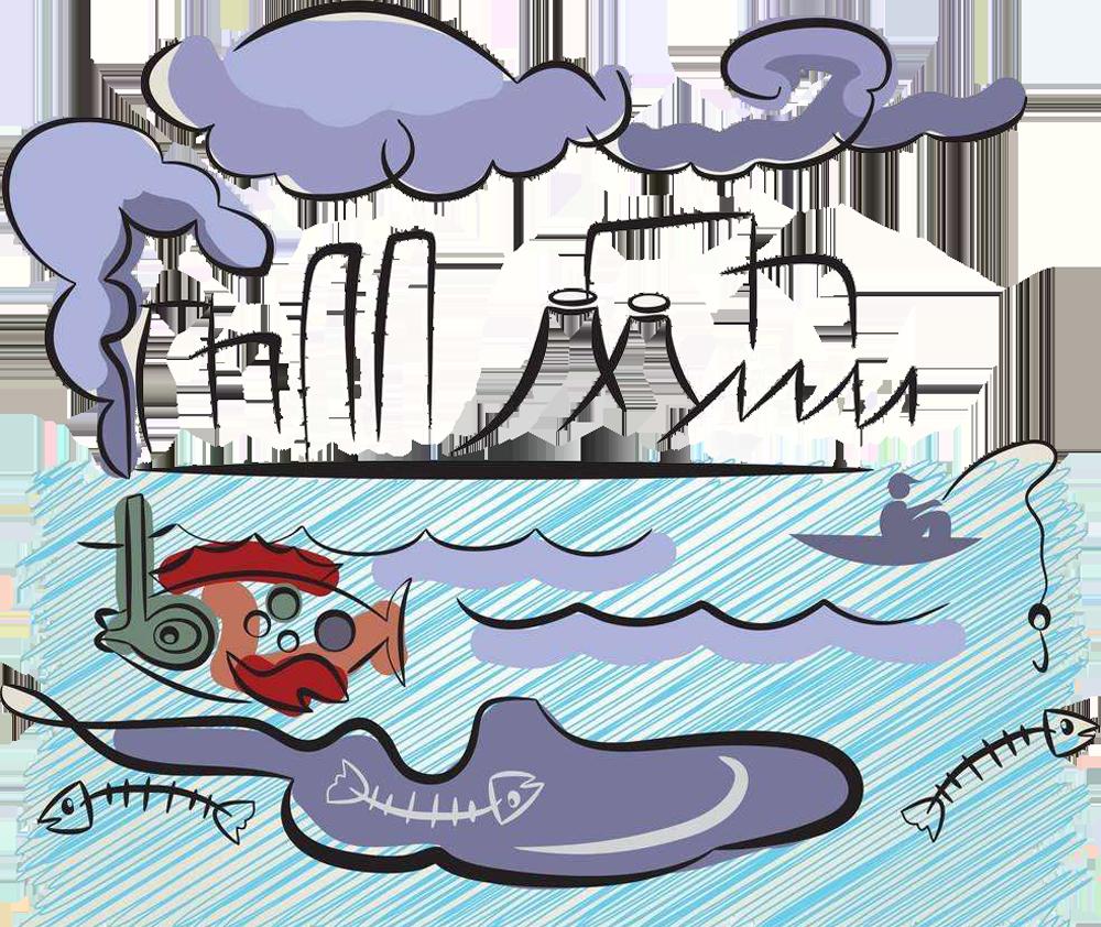 Factories clipart dirty air. Water pollution clip art