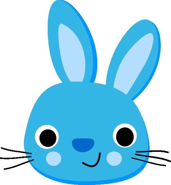 Head clipart bugs bunny. Blue clip art at