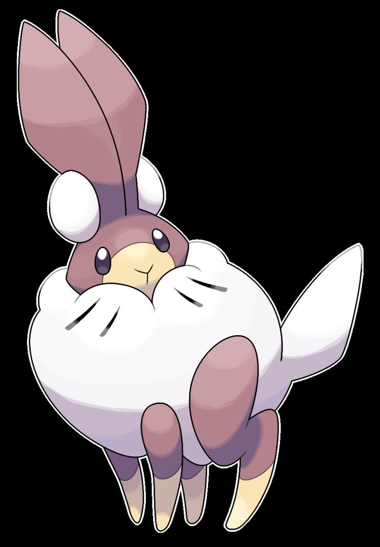 Clipart bunny arctic hare. Lepolar soft snow fakemon