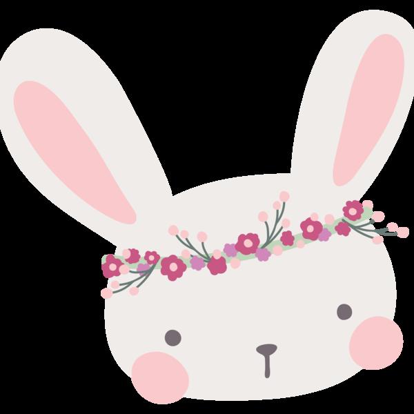 Camiseta unisex por raposalobo. Clipart bunny boho