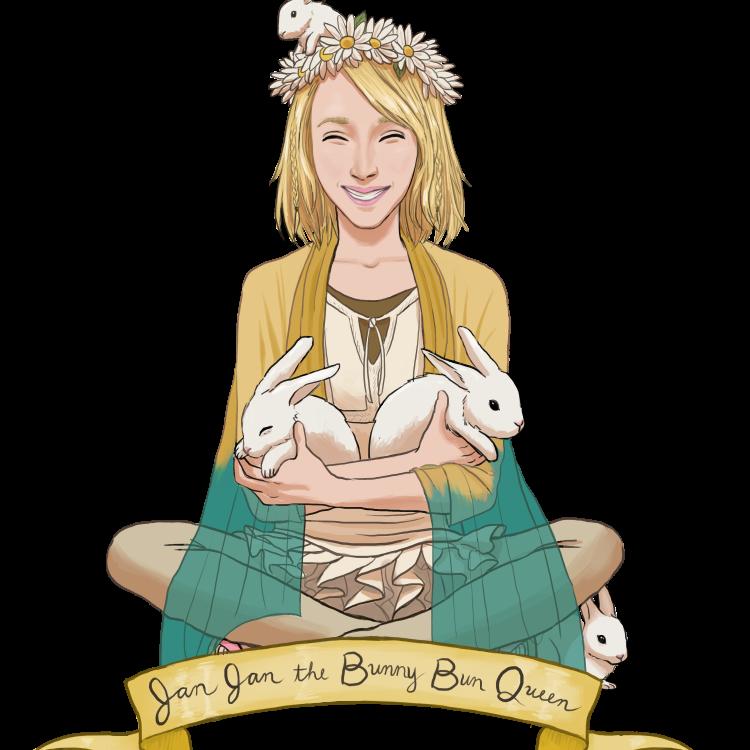 Bunnies bohobunniesshop twitter. Clipart bunny boho