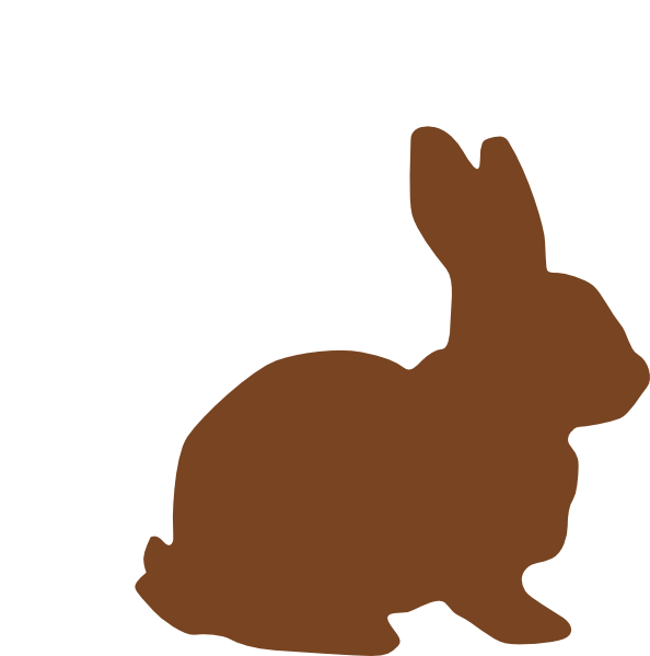 Families clipart bunny. Chocolate easter clip art