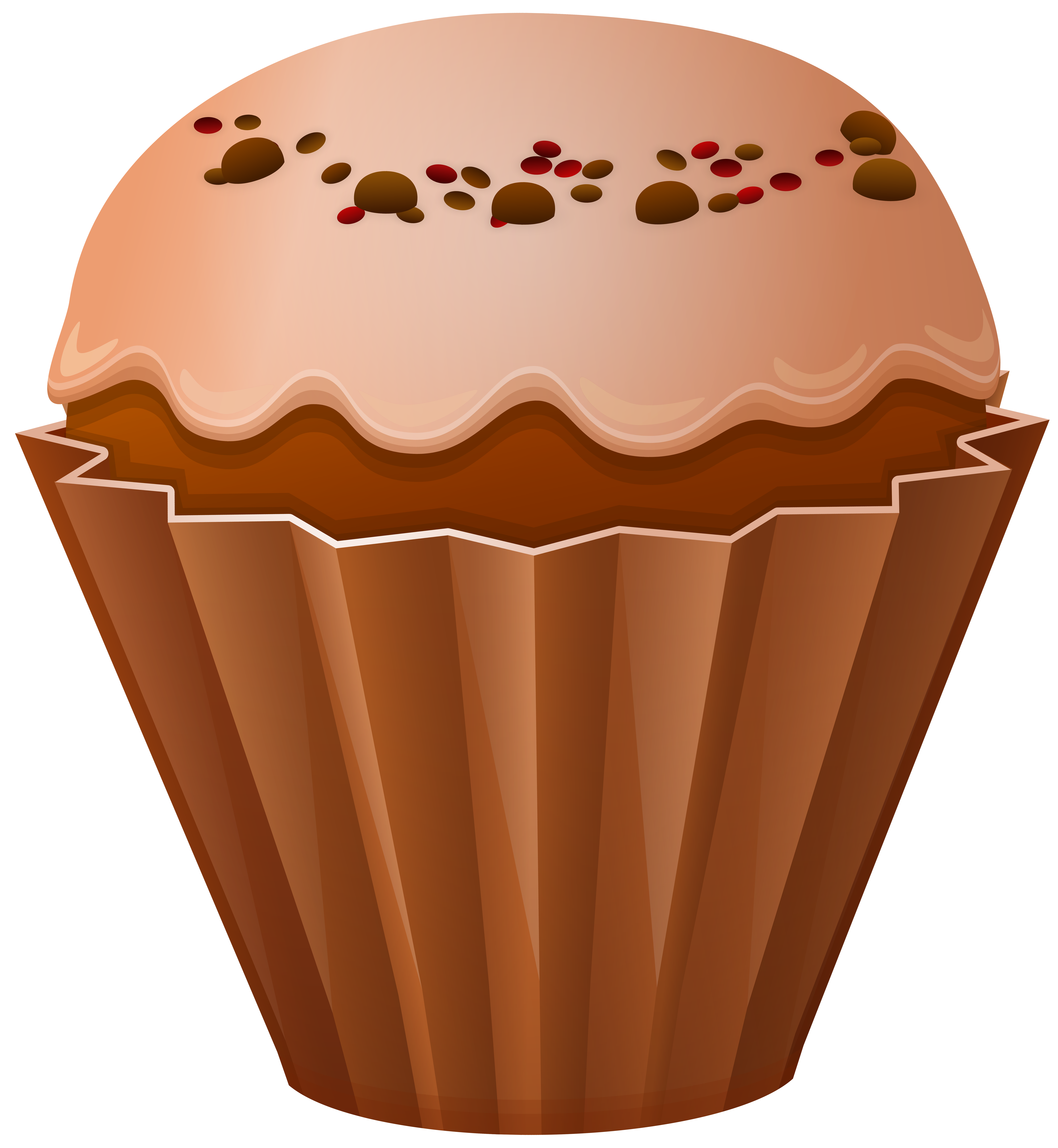 Png clip art gallery. Fruit clipart muffin