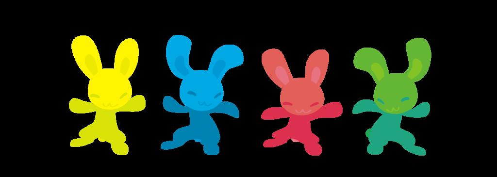 dancing bunnies by Kna on DeviantArt