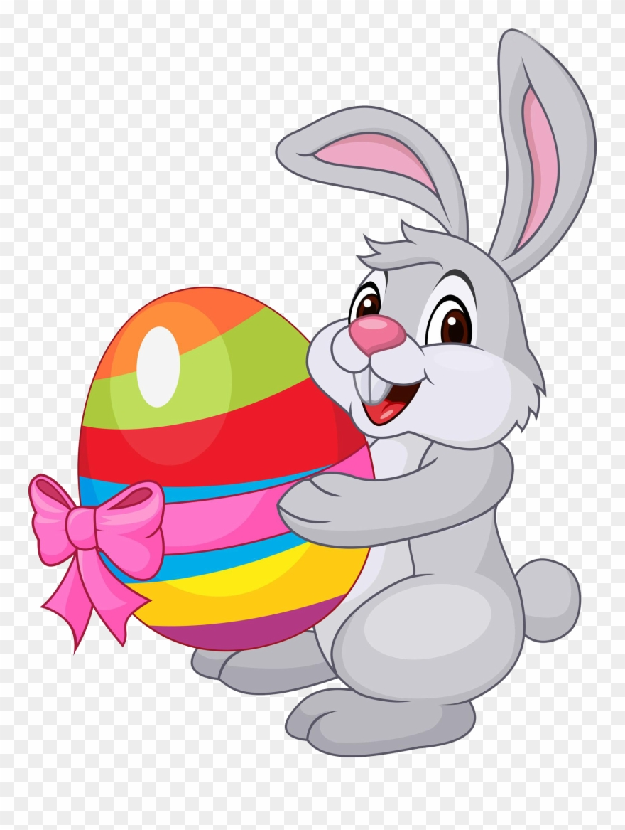 Rabbit pinclipart . Clipart bunny easter egg