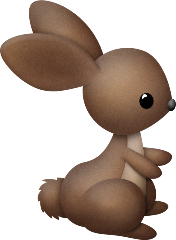 Clipart bunny forest.  animales pinterest clip