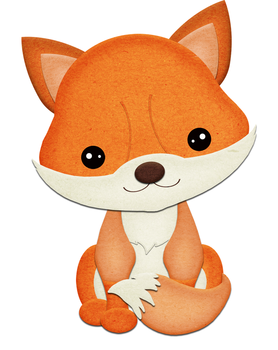 Bello principito ni os. Woodland clipart gray fox