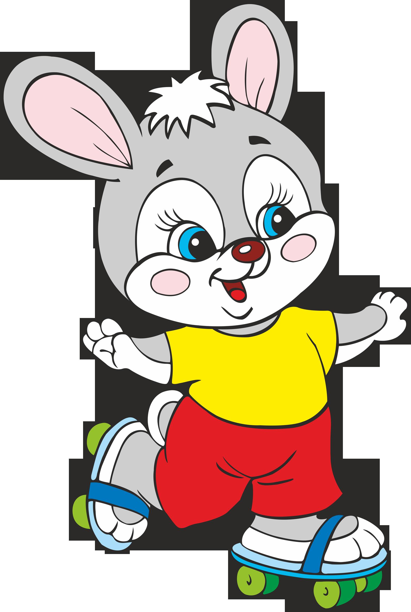 Bunny silver rabbit lola. Fox clipart easter