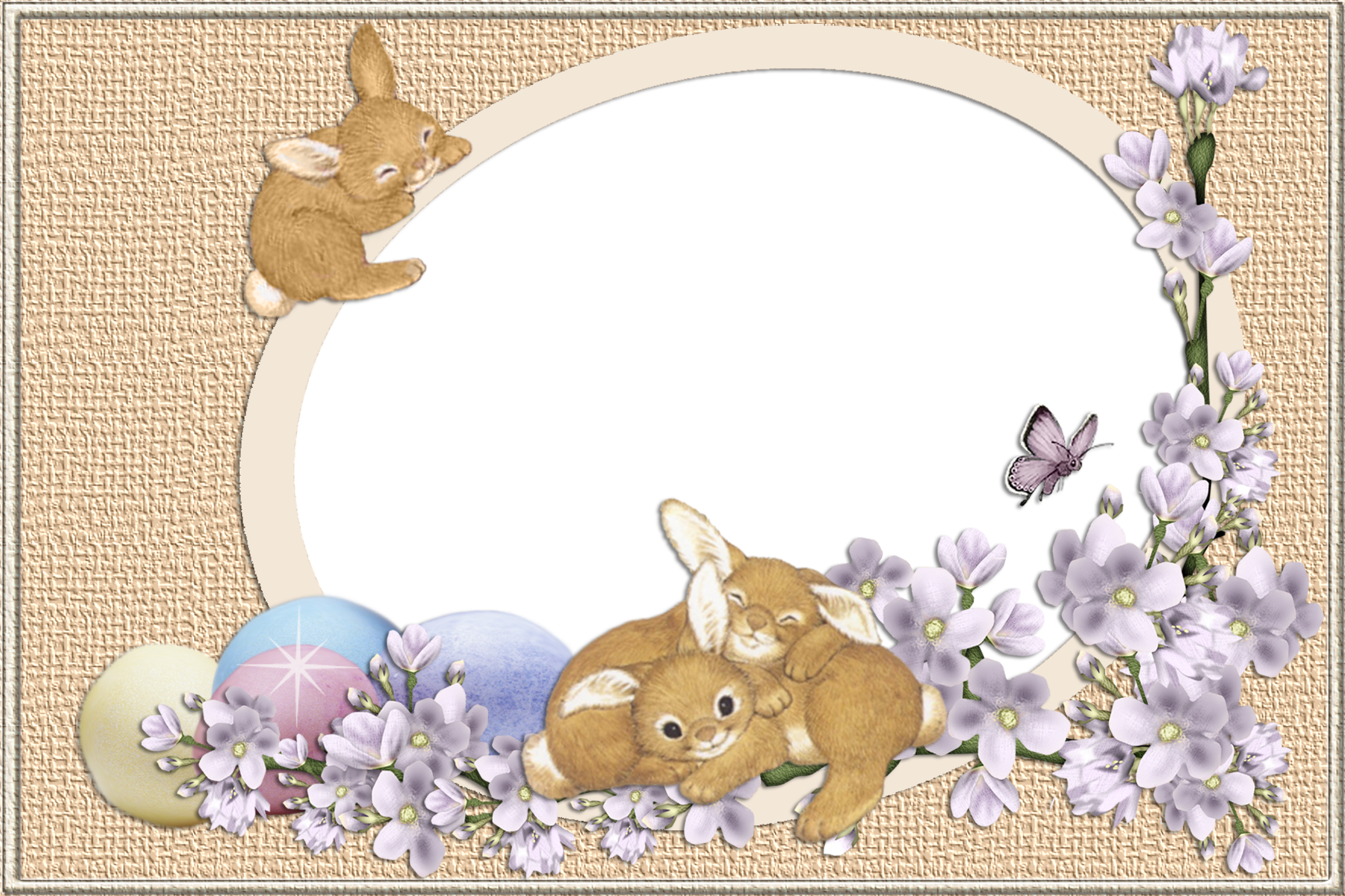 Clipart bunny frame. Easter bunnies transparent png
