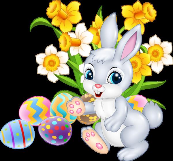 clipart bunny garden #65423772
