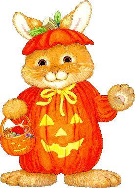 Clipart bunny halloween. Clip art