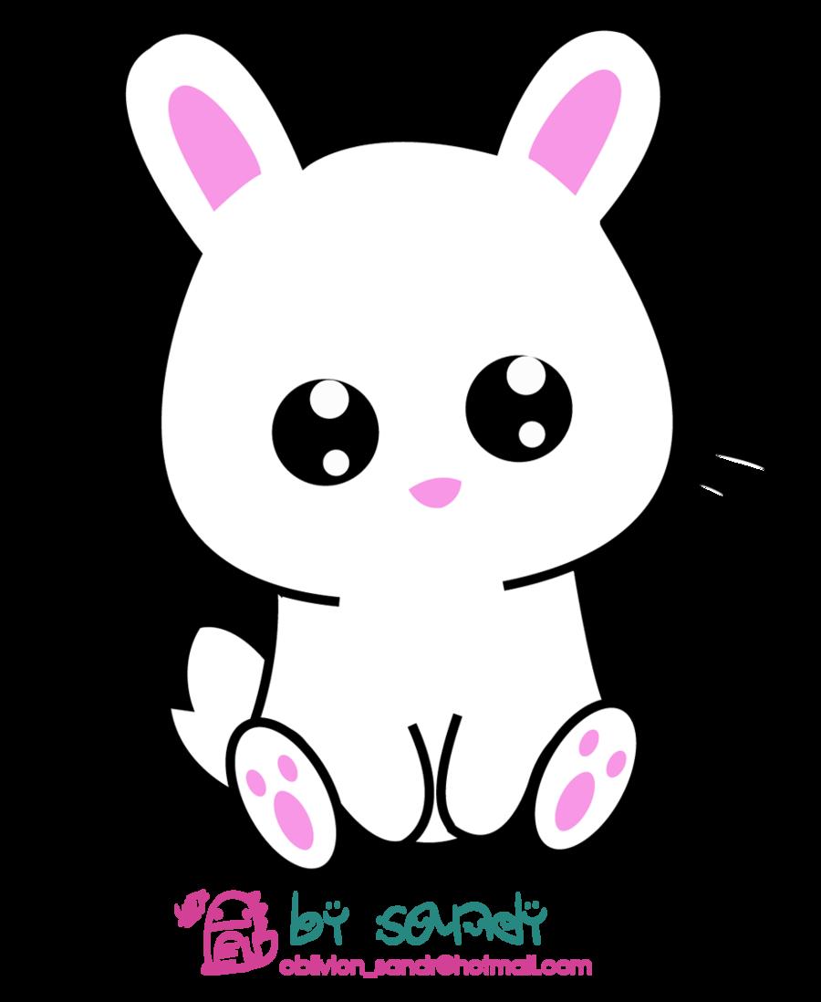 Buscar con google pinterest. Clipart bunny kawaii