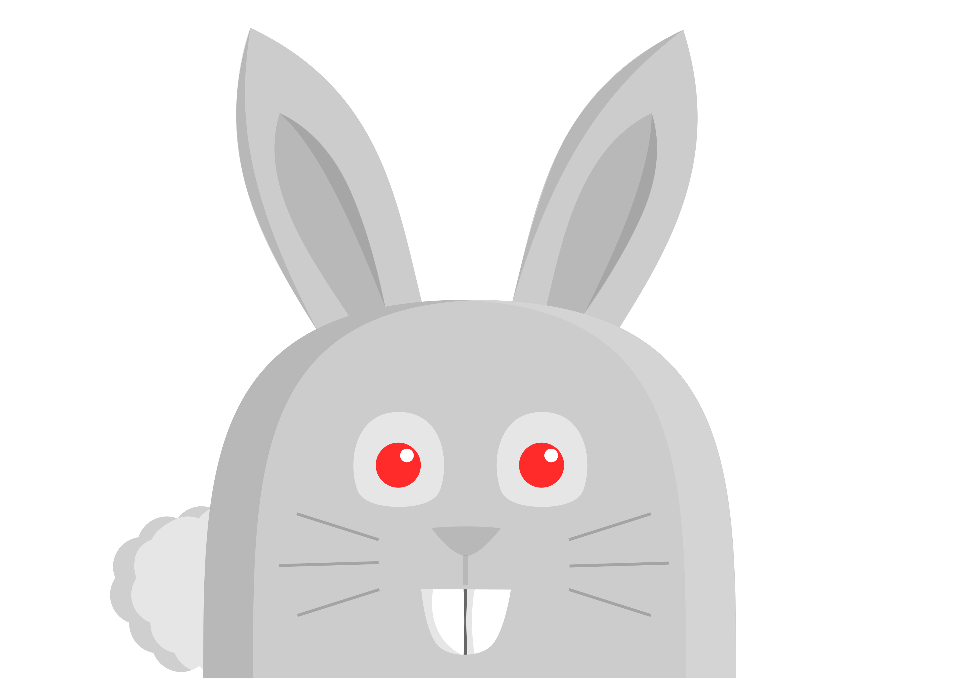 Clipart bunny nose. Rabbit oso big image