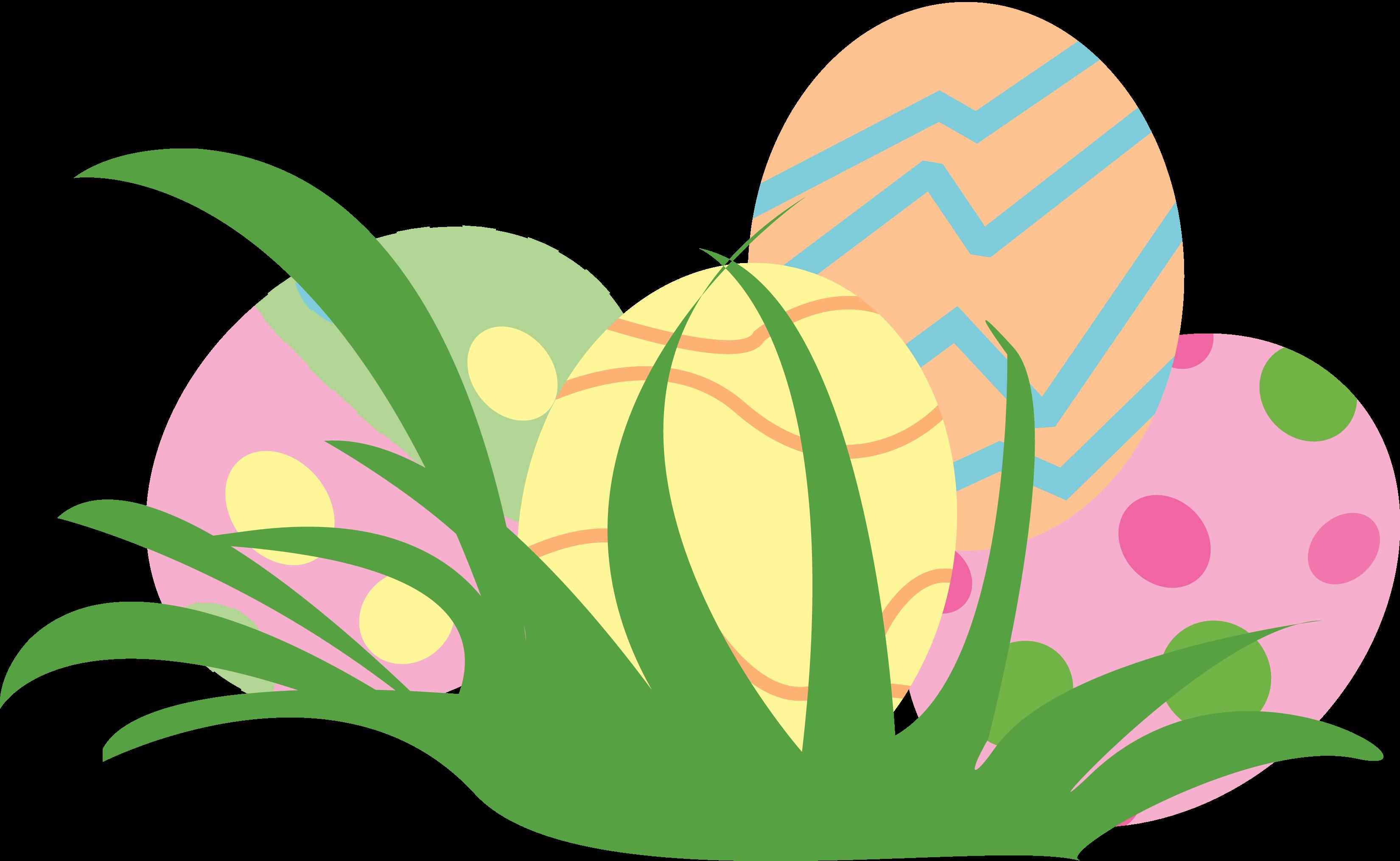 E clipart egg clipart. Easter eggs in grass