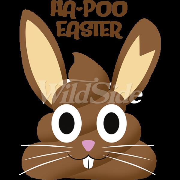 Clipart bunny poop. Ha poo easter emoji