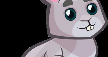 Clipart bunny profile. Face clip art archives