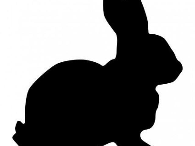 Free download clip art. Clipart bunny profile