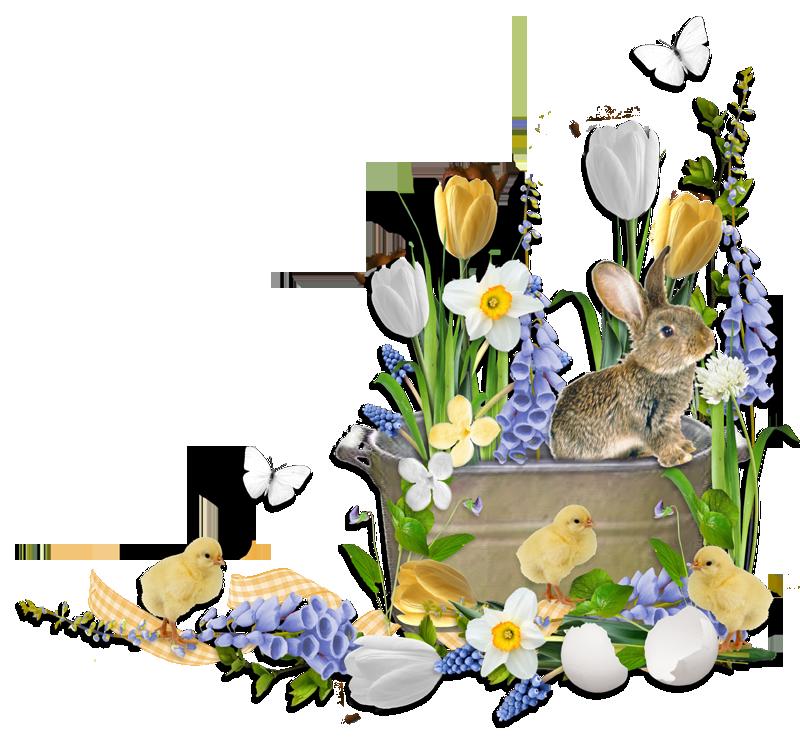 Cheyokota digital scraps easter. Woodland clipart bunny