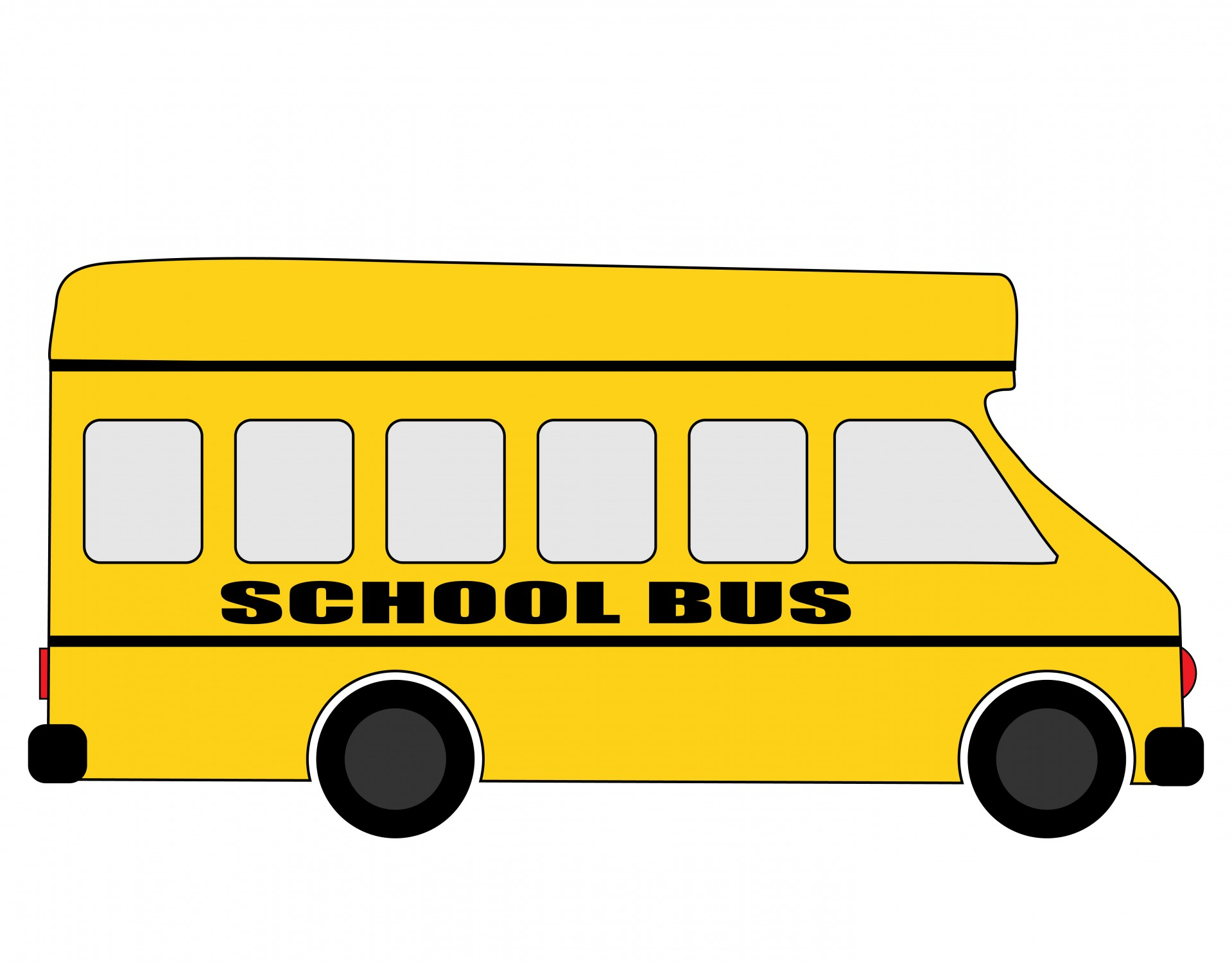 Bus clipart school bus. Free stock photo public