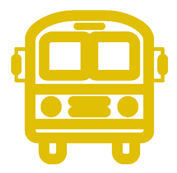 Clipart road bus route. Transportation to ross valley