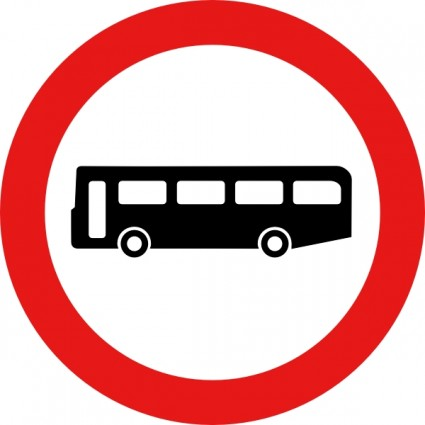 Driver clipart bus stop sign. Free download clip art