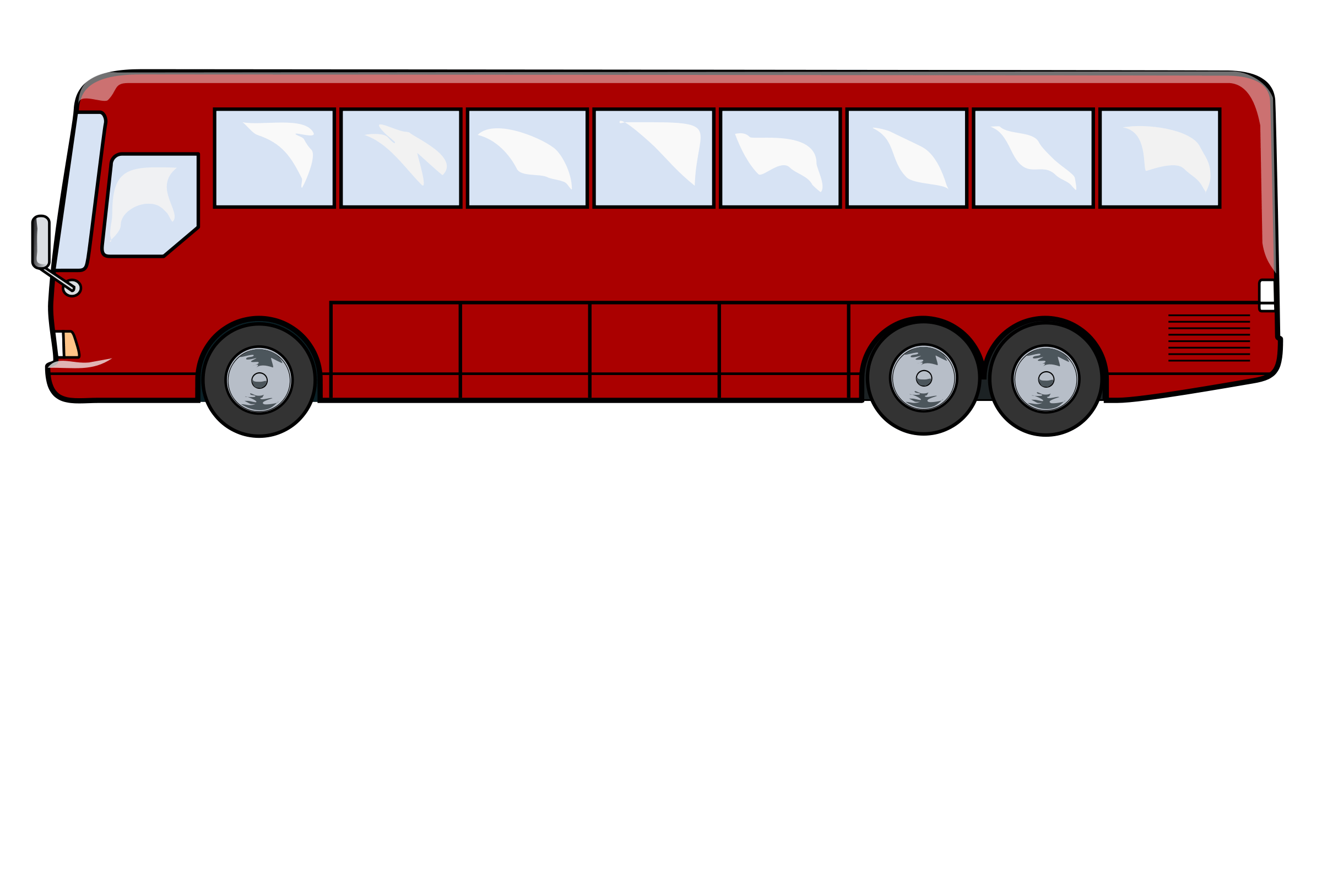 Clipart shapes bus. City side view png