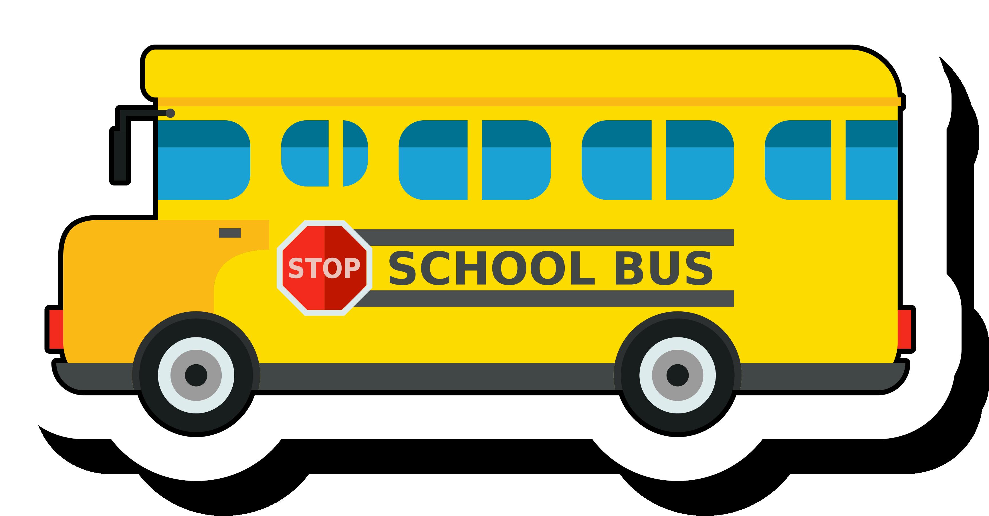 School clip art golden. Clipart bus class trip