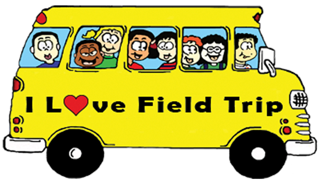 collection of field. Clipart bus class trip