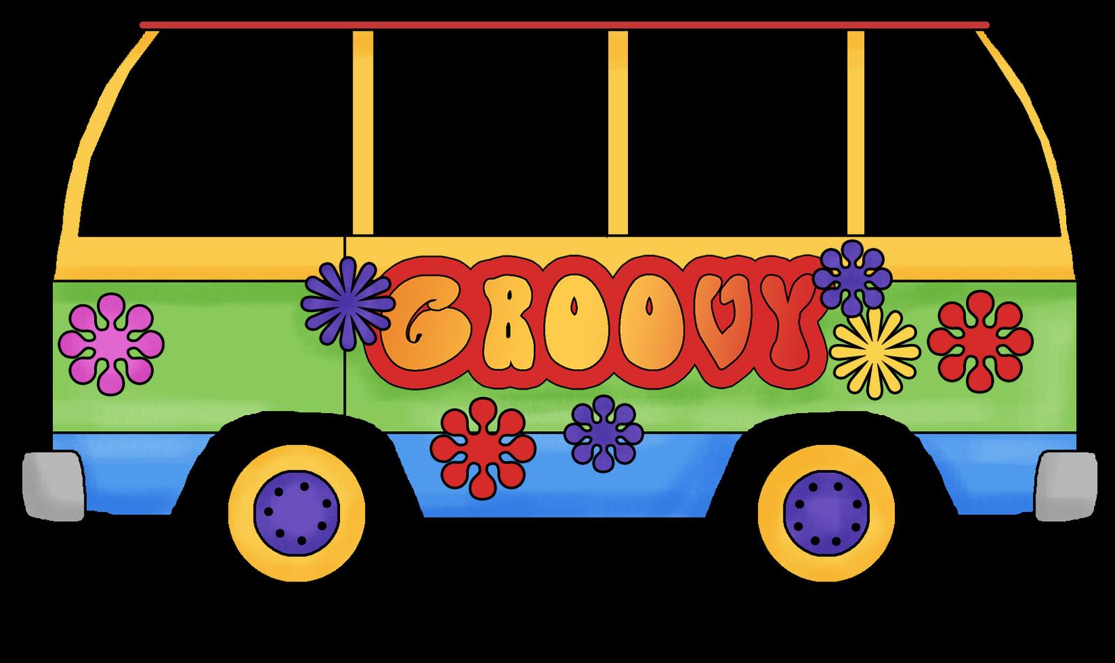 Groovy Bus Clipart
