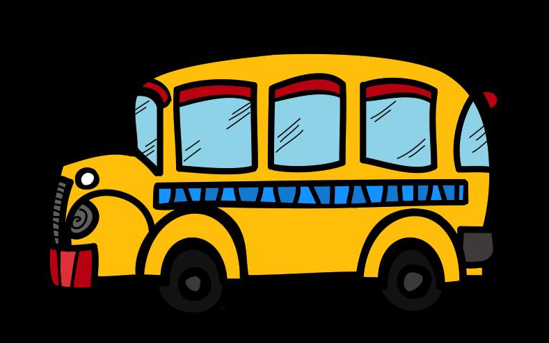 School the creative chalkboard. Families clipart bus