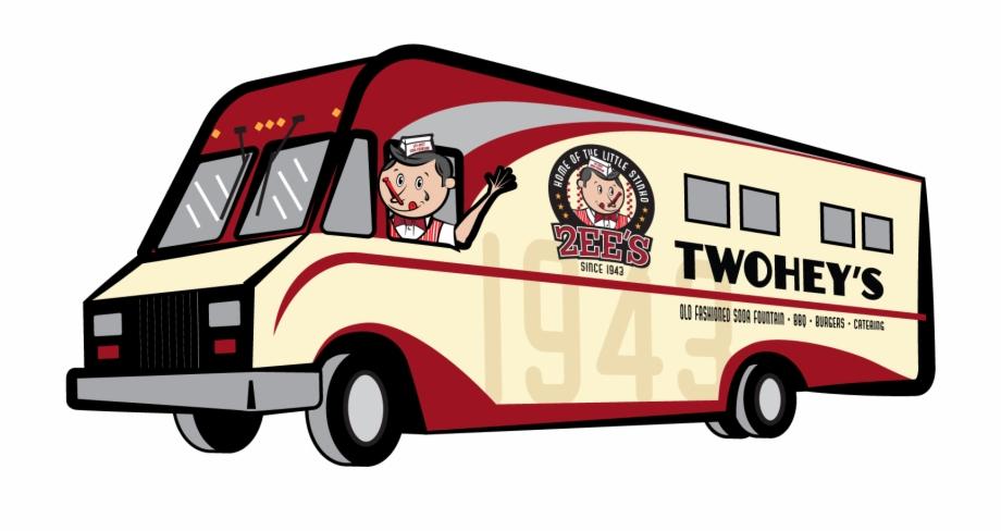 Clipart bus food. Twoheys truck clip art