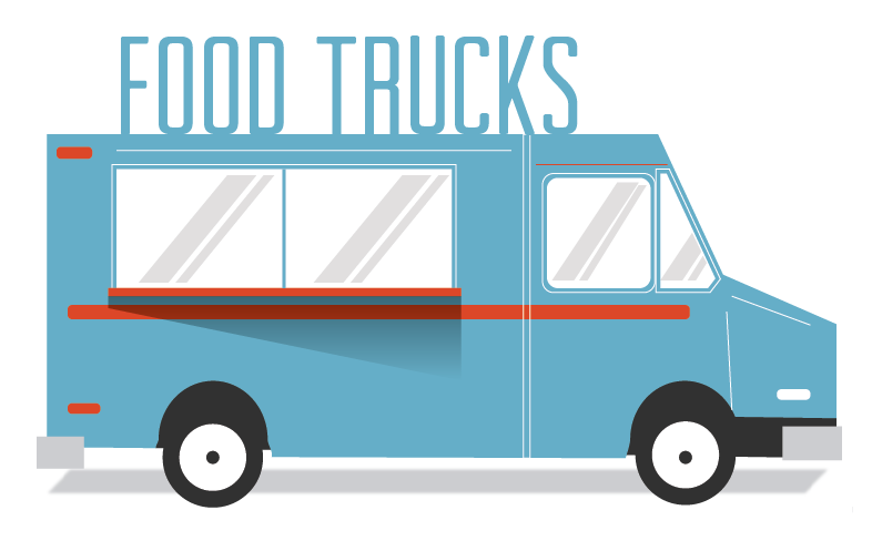 Make it a date. Clipart bus food