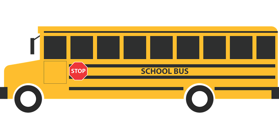 Picture of group free. Driver clipart yellow school bus