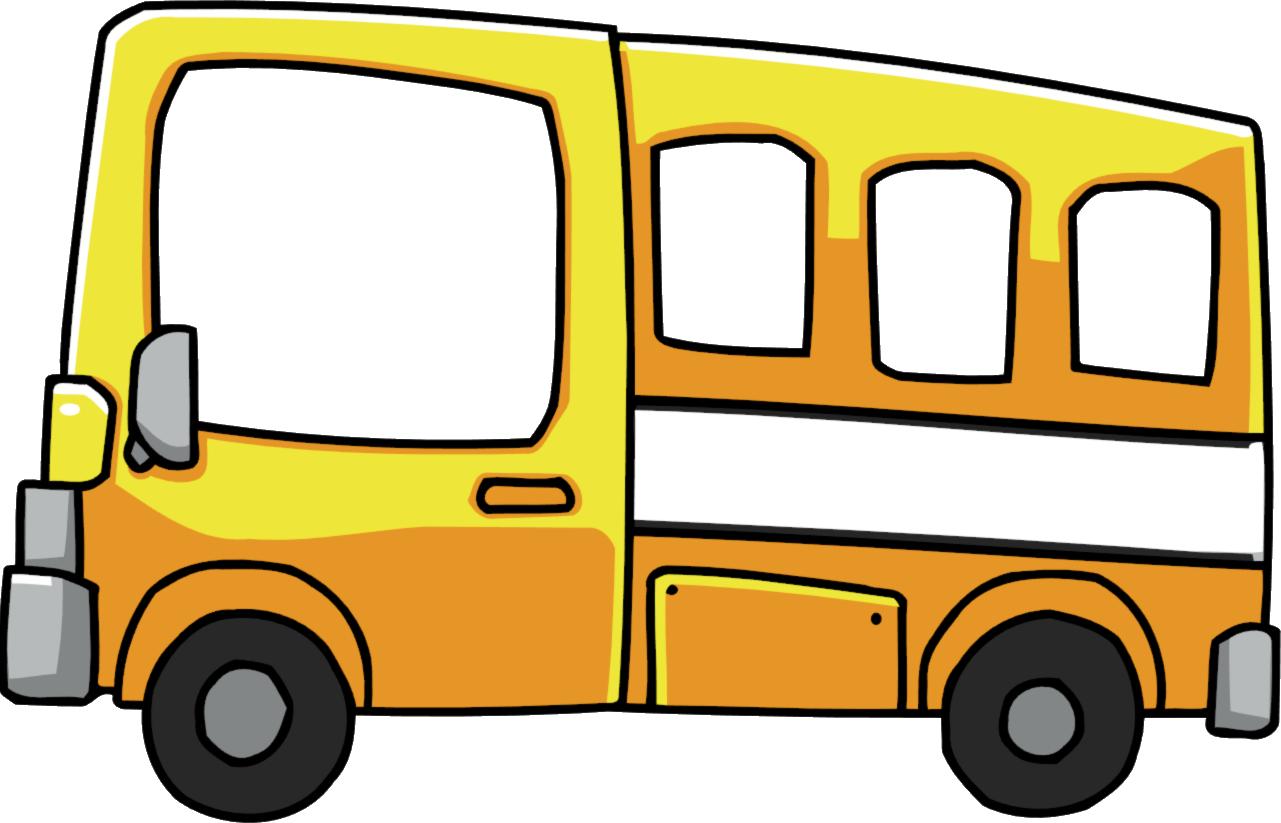 Image short png scribblenauts. Families clipart bus