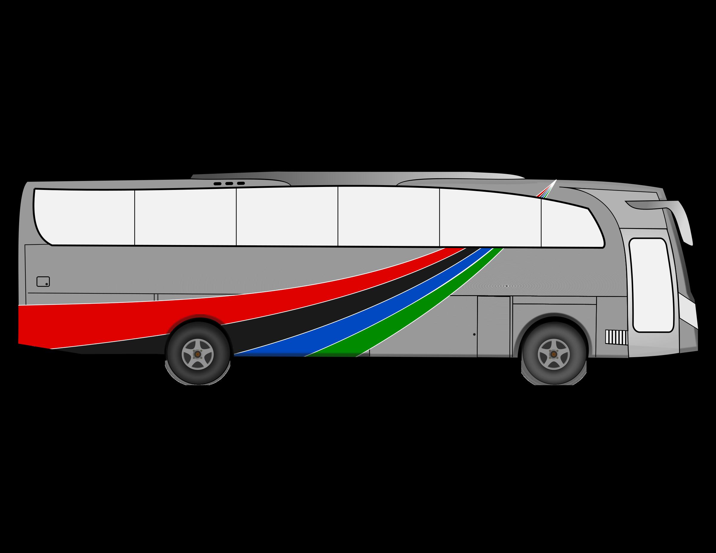 . Clipart bus land transport