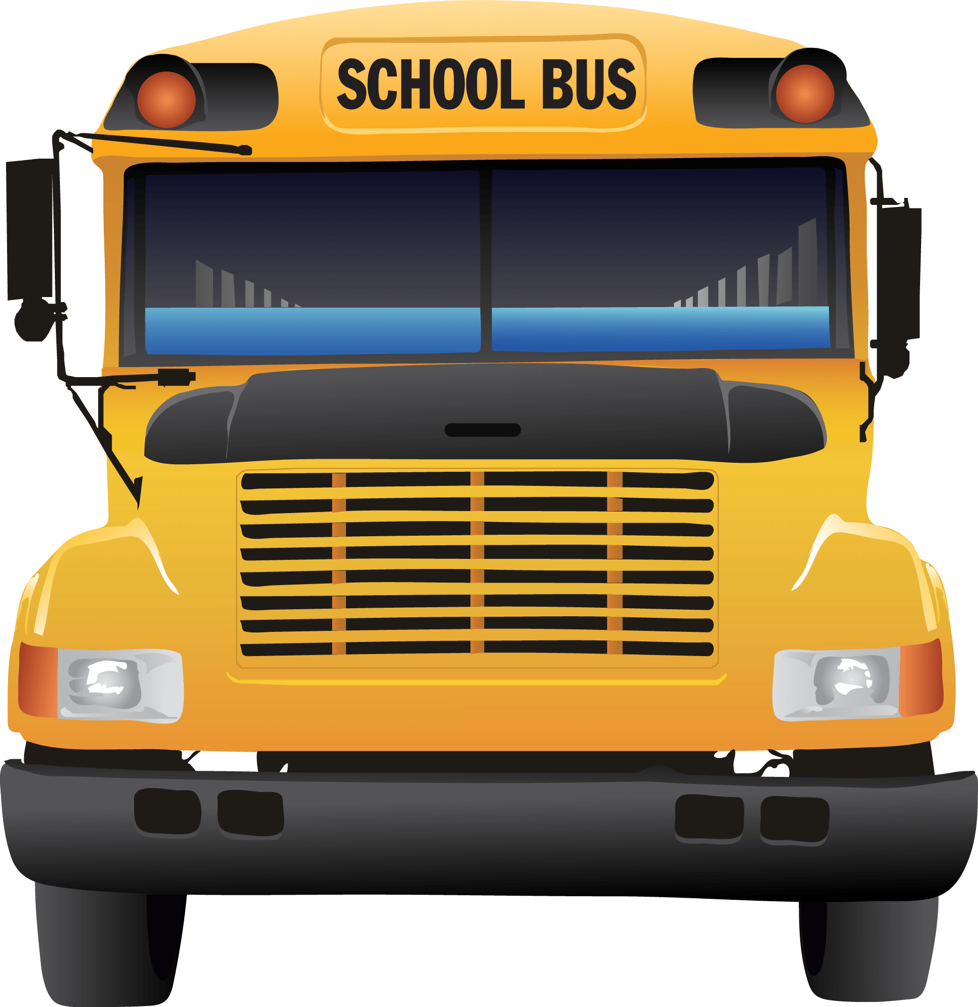 fresh school free. Picture clipart bus
