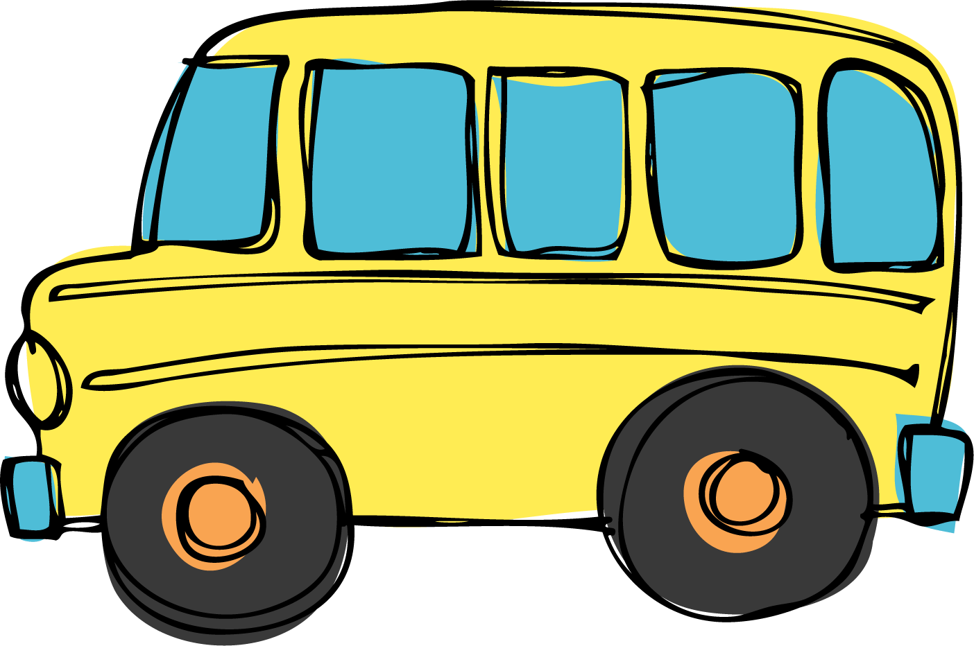 Driver clipart yellow school bus. Template printable com back