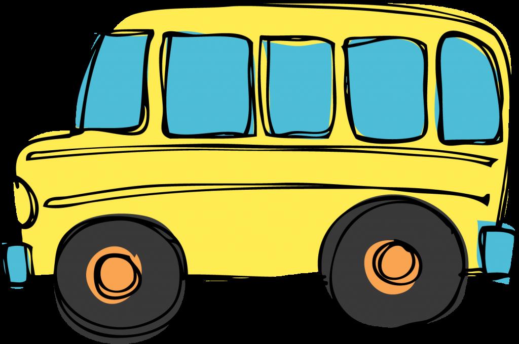 Clipart bus land transport. School matthew aac