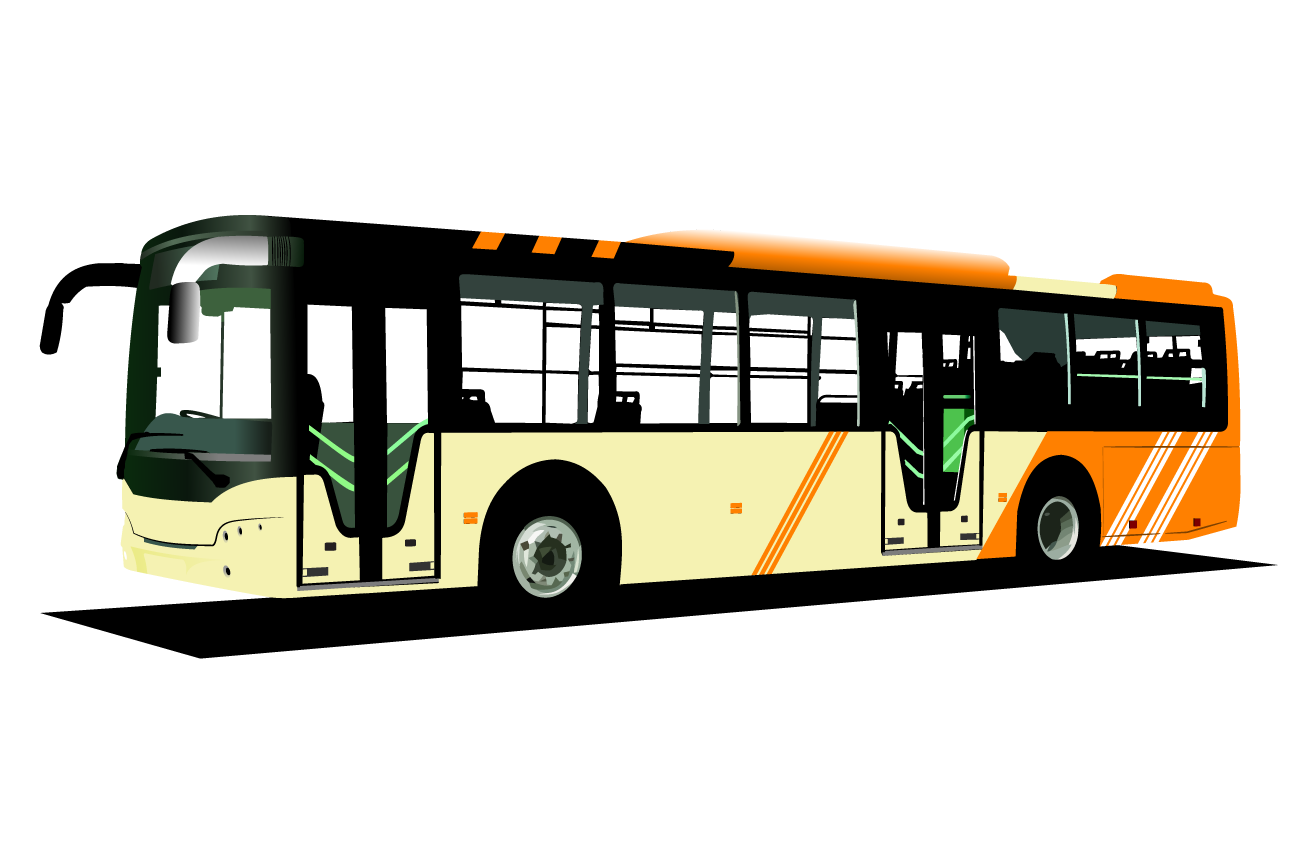 Clipart bus land transport. Double decker royalty free