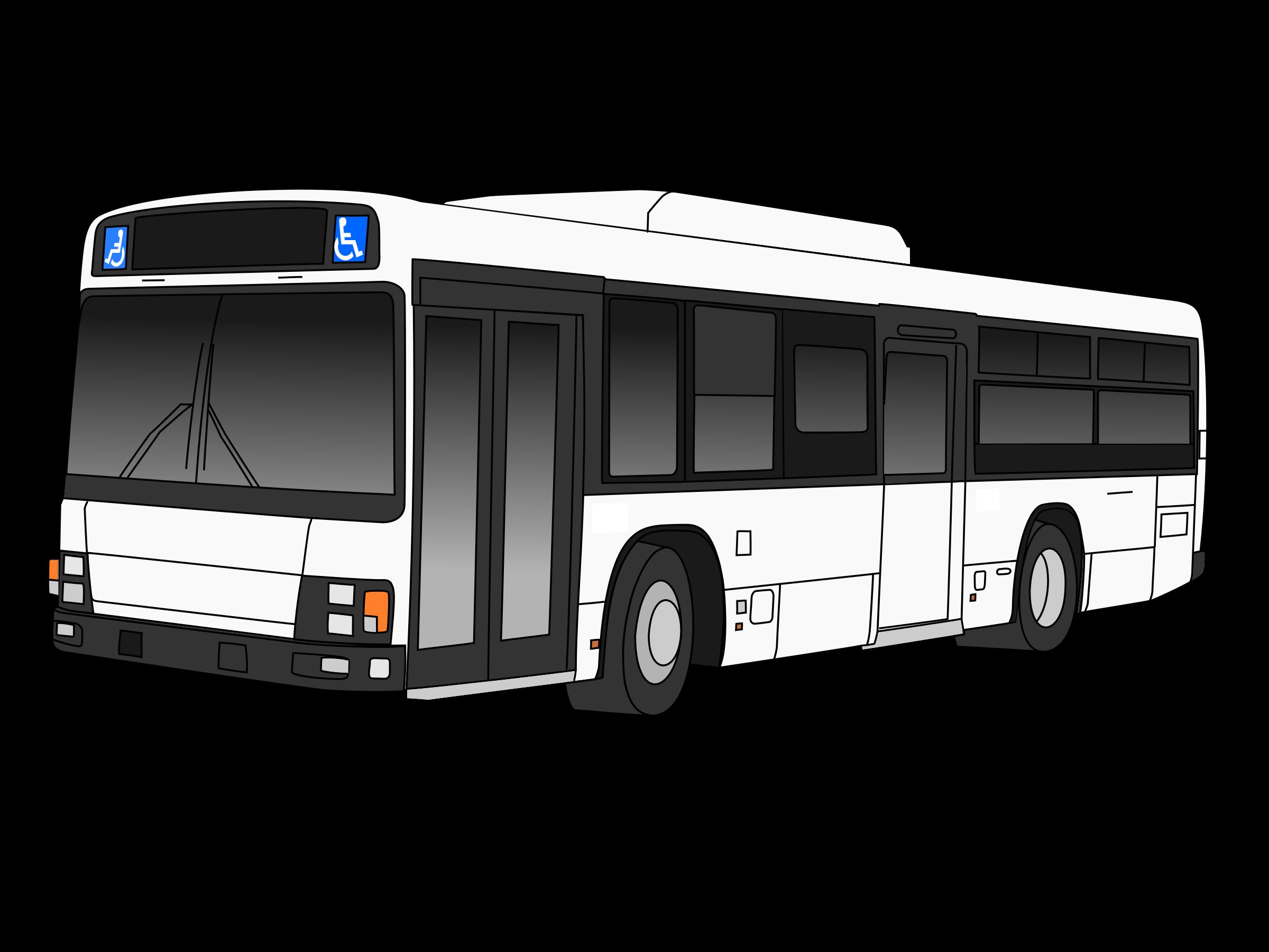 Transit public stop clip. Clipart bus land transport