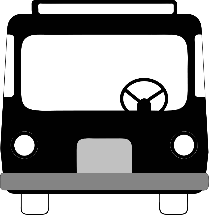 Free cartoon image download. Clipart bus library