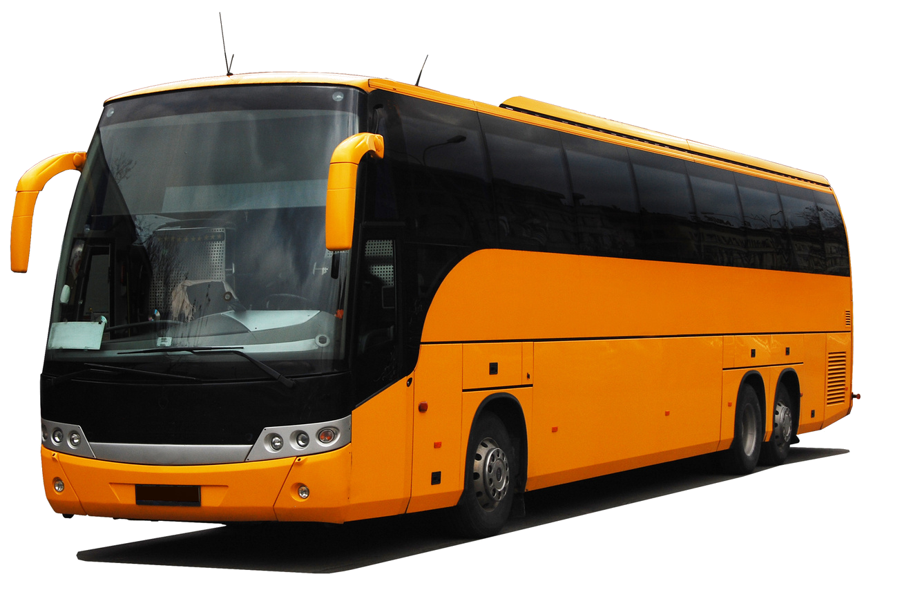 Traveling clipart charter bus. Png transparent images all