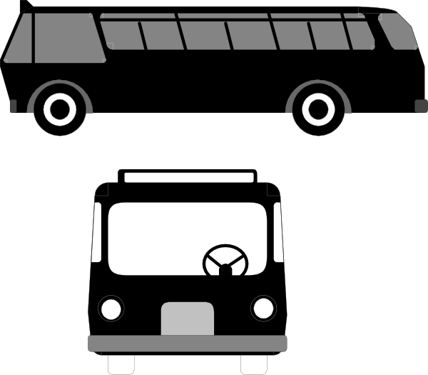 Families clipart bus. Transportation clip art at