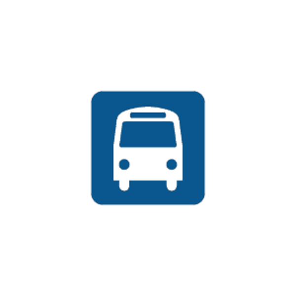 Stop free images at. Clipart road bus route
