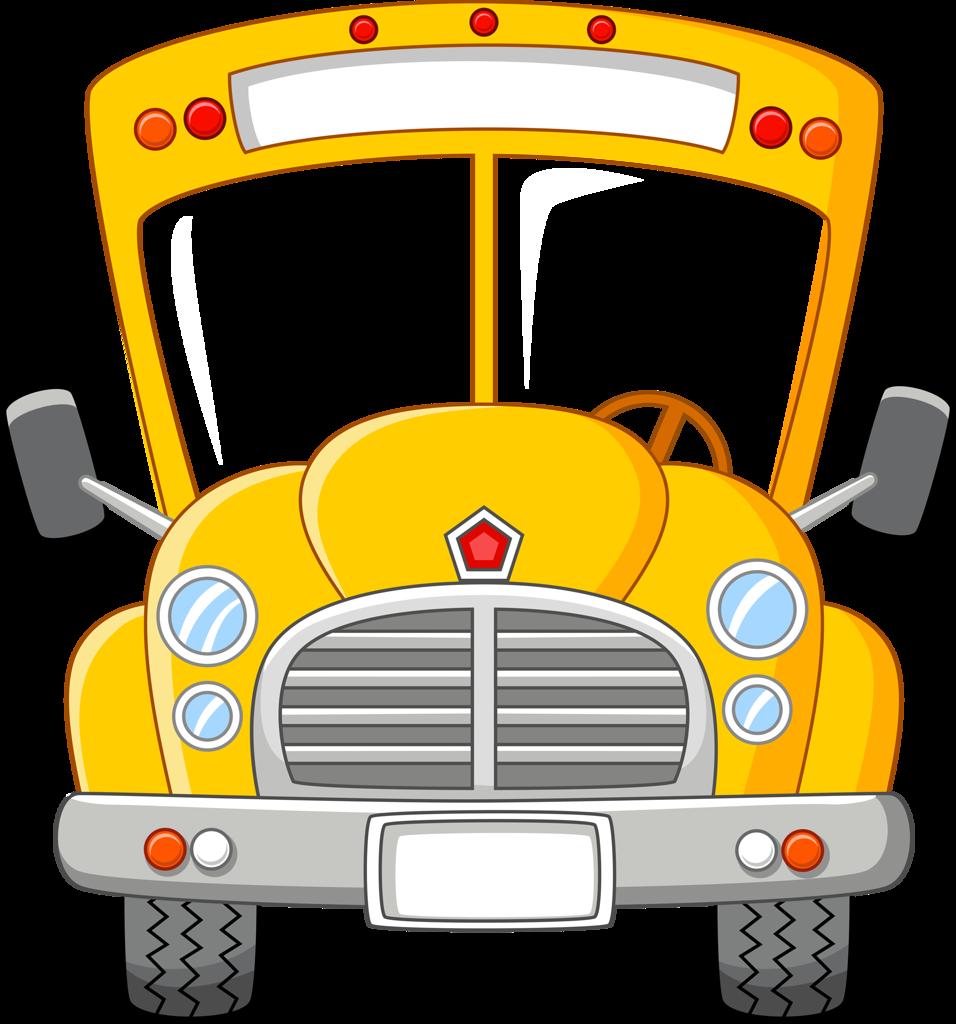 png clip art. Driver clipart yellow school bus