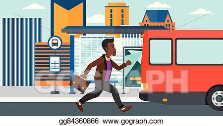Clipart bus person. Eps vector man missing