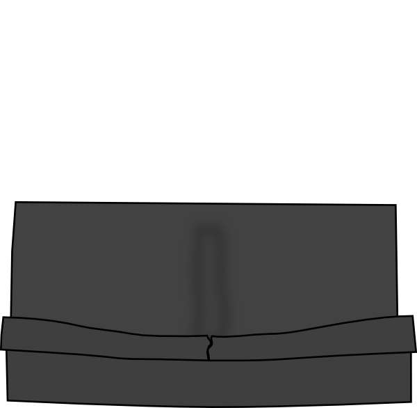 Booth bench seat clip. Clipart bus rectangle