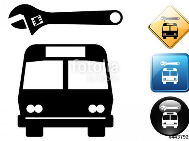Clipart bus repair. Free download clip art