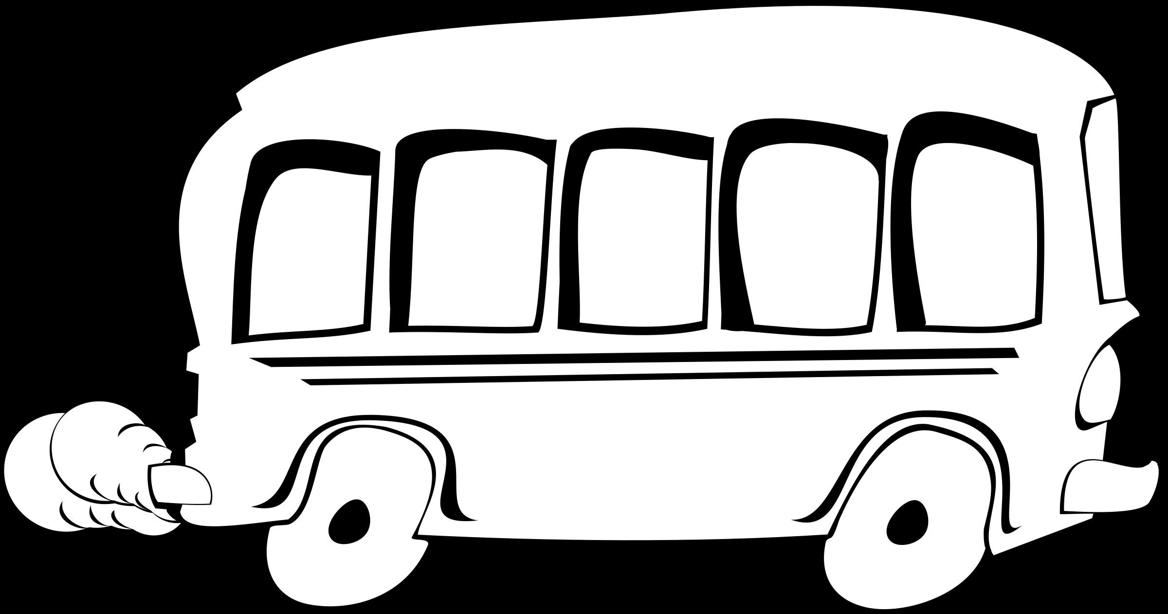Coloring clipart bus. Remixed big image png